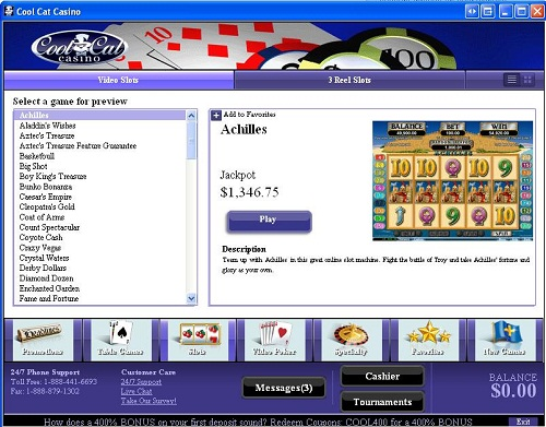 Online roulette demo
