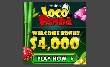 23 Free Spins at Loco Panda Casino