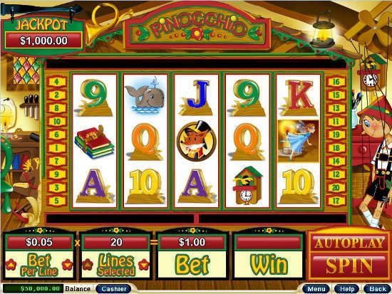 slots-jungle-pinocchio