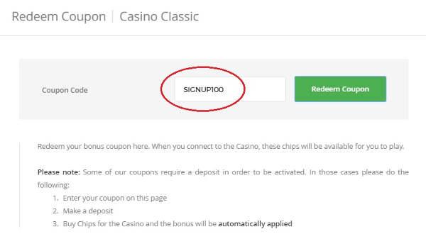 intertops classic casino bonus codes 2019