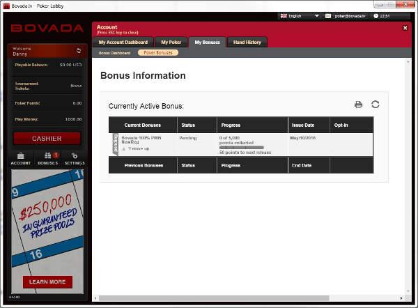 Bovada Bonus Code Poker Or Casino