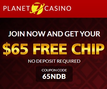 Planet 7 Coupon Codes for No Deposit Bonuses