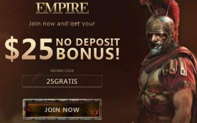 Slots Empire Casino No Deposit Bonus Coupon Codes