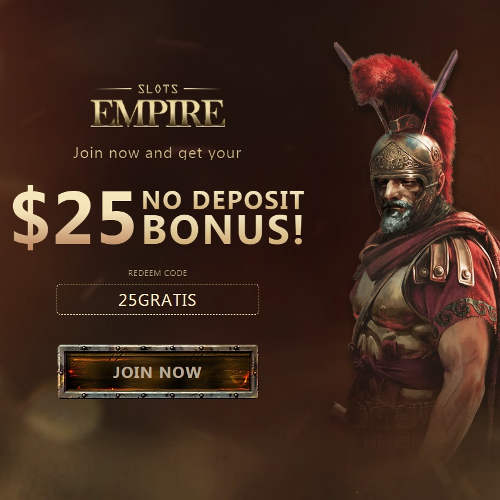 Slots Empire Casino No Deposit Bonus Coupon Codes