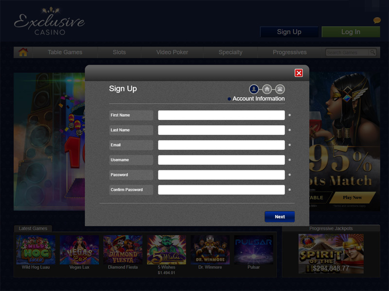 Exclusive Casino Coupon Codes